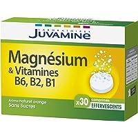 Juvamine MAGNESIUM + VITAMINES B6, B2, B1, 30 comprimés effervescents