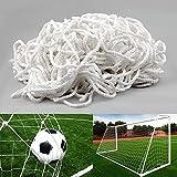 Fußballnetz für Tore Fußballtor - Kinder Weiß