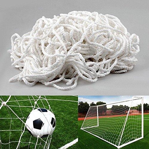 Pieloba Ballnetz Meterware H/öhe 2,00 m gr/ün Ballfangnetz Fangnetz Fu/ßballnetz Netz