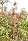 Rankobelisk aus Weide, Rankhilfe
