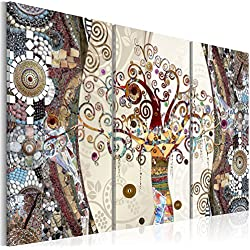 murando - Cuadro en Lienzo 120x80 cm - Mosaico - Impresion en calidad fotografica - Cuadro en lienzo tejido-no tejido - Gustav Klimt Baum l-C-0002-b-f
