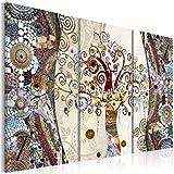 murando - Cuadro de cristal acrílico 120x80 cm - Cuadro de acrilico - Impresion en calidad fotografica - Gustav Klimt Arbol Mosaico l-C-0002-k-f