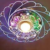 Briskaari Shop- Kreative Deckenleuchten Modern für Flur Veranda Lichter Unterputz Sonnenblume Wandleuchten Asile Lichter (Farbe : Bunt-3W)