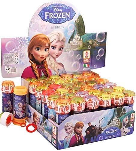 Große Auswahl von Disney Charakters Seifen mit Puzzle Labyrinth Deckel - Packung zu 12 - Eiskönigin (frozen)