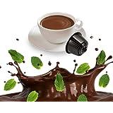 Kickkick After Eight - Cioccolato e Menta Cialde Compatibili Nescafe Dolce Gusto - 32 Capsule
