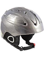 AWE Esquí Snowboard Freeride en Mould de casco fr adultos Gre L CE de en1077TUV
