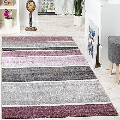 alfombra-de-diseo-de-alta-calidad-moderna-pelo-corto-rayas-color-gris-baya-lila-grsse160x230-cm