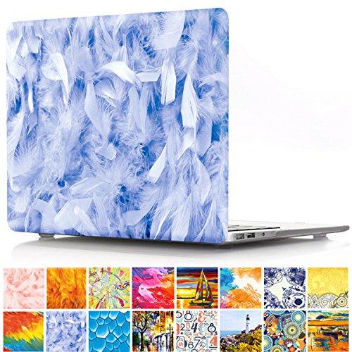 Funda para MacBook Pro de 15 Pulgadas, diseño de atrapasueños PapyHall, Carcasa rígida de plástico recubierta de Goma para Apple MacBook Pro de 15 Pulgadas, Modelo: A1286 4 Blue