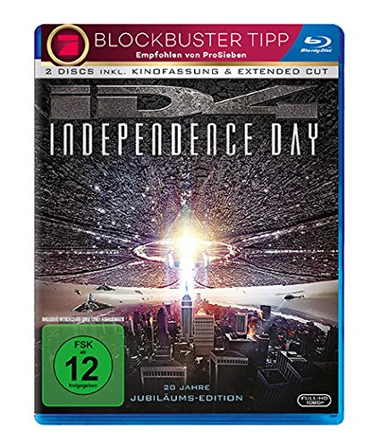 Independence Day - Extended Cut [Blu-ray] -