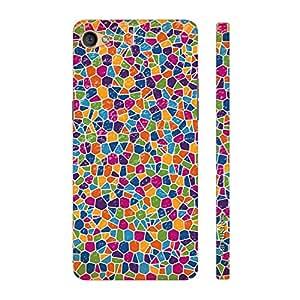 Enthopia Designer Hardshell Case Barcelona's Pattern Back Cover for Oppo F1S