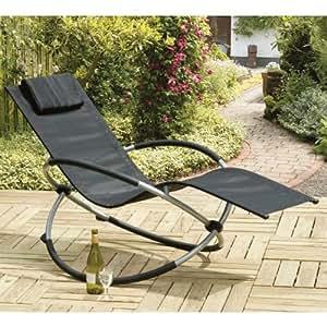 transcontinental group orbit chaise longue bascule jardin. Black Bedroom Furniture Sets. Home Design Ideas