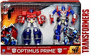 Transformers Age of Extinction Exclusive OPTIMUS PRIME Evolution 2-Pack