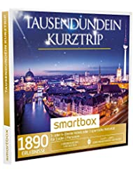 SMARTBOX - Geschenkbox - TAUSENDUNDEIN KURZTRIP - 1890 Erlebnisse: 1 Übernachtung mit Frühstück oder eine sportliche Aktivität