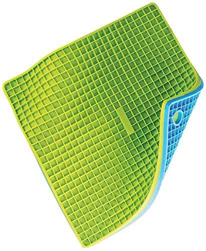 Silicone Zone 140071 Dessous de Plat / Manique Bleu / Vert