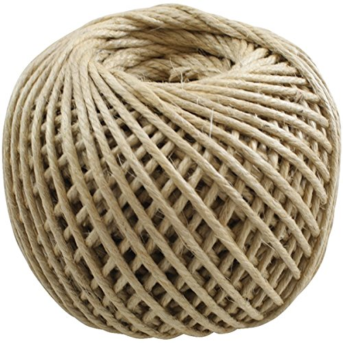 Jute Rope 4 Ply 100yd/Spool-Natural -