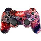 Controller wireless per Joystick PS3 gamepad Dual Shock ad alte prestazioni per Playstation 3 con cavo di ricarica (Universe)