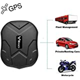Winnes GPS Tracker Auto GPS Tracker mit Starker Magnet 3 Monate Sleep in Echtzeit GPS/GPRS/GSM Tracker…