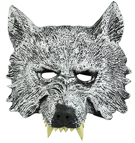 f Maske 3D Werwolf Maske Halloween Haunted House Requisiten (The Haunted-maske Halloween-maske)