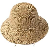 Gorro MEIDUO Sombrero de Playa Sombrero de paja tejido Sombrero de playa  femenino de verano Sombrero 89abeb1a8fe