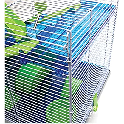 Rosewood Pico Hamster Cage, Extra Large, Silver 3