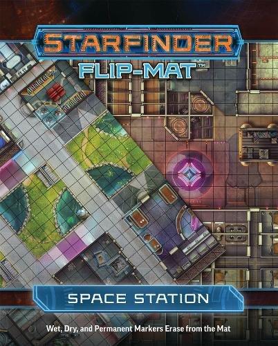 Starfinder Flip-Mat: Space Station por Paizo Staff