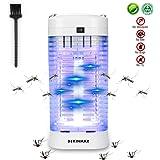 DEKINMAX Elektrischer Insektenvernichter, UV Insektenvernichter 11W Mückenlampe Schutz vor Elektrischem SchlagTragbare Mückenfalle Zeltlampe gegen Mücken, Fliegen, Moskitos für Innen und Außeneinsatz