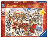 Ravensburger 19337 - Unterwegs zur Bescherung - 1000 Teile Puzzle