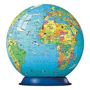 Ravensburger Children's World Globe, 180pc 3D Jigsaw Puzzle®