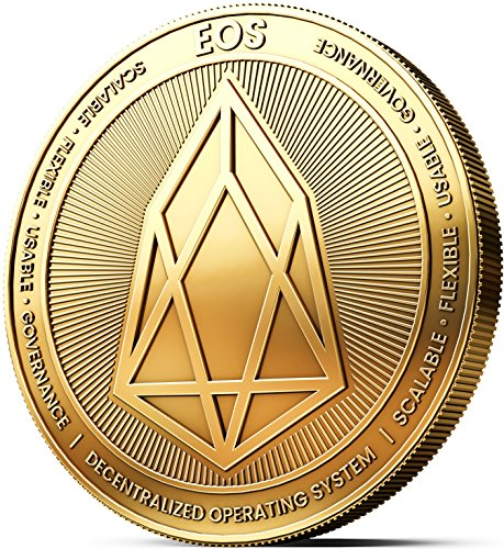 Physische EOS Medaille mit 24-Karat Echt-Gold überzogen. Wahres Sammlerstück mit Münzkapsel. EIN muss für jeden EOS-Fan