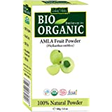 Indus Valley 100% Organic Amla Powder (Indian Gooseberry Powder) For Face, Skin & Hair Care 100 Gm
