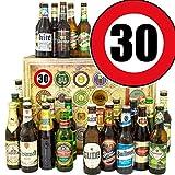 Geschenkideen für Männer zum 30. | Bier 24x | Bier aus D und Welt
