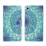 Urcover® Schutzhülle kompatibel mit Sony Xperia Z3 Compact, Handy Hülle [ mit Kartenfach & Ständer ] Kunstleder Wallet Case Schale Etui Cover Tasche in Design Paisley
