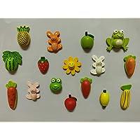SuperBasics Wood Fridge Magnet (Multicolour)