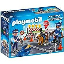 Playmobil Policía - Control de Policía (6924)