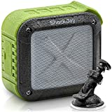 Waterproof Bluetooth Speaker for Outdoor & Shower by ShackJoy. FREE Shower Suction Mount