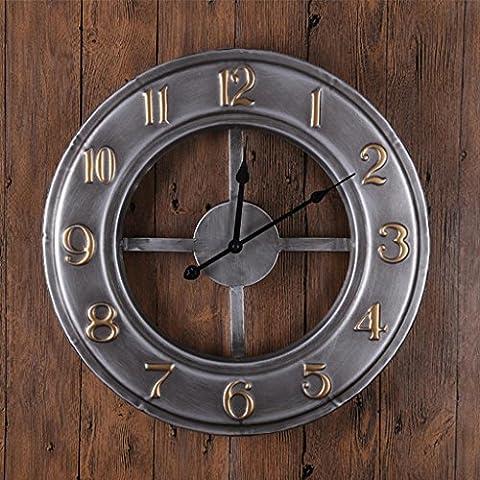 PIO Peacock Horloge en verre acrylique Matériau seul côté Chambre Salon Horloge murale