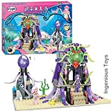 Ingenious Toys The little mermaid - The Lair of the Sea Witch - 348pcs construction set #1111 mermaid