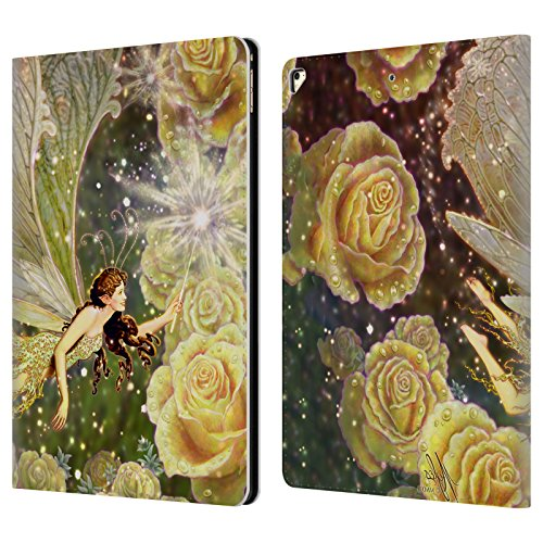 Offizielle Myles Pinkney Karamellbonbon Fantasy Brieftasche Handyhülle aus Leder für Apple iPad Pro 12.9 (2017)