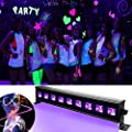 UV Bar LED Stage Lamp Black Light Disco Party Lights Ultraviolet LED Spotlight for Disco DJ Club Show Party Decoration Peyingsource