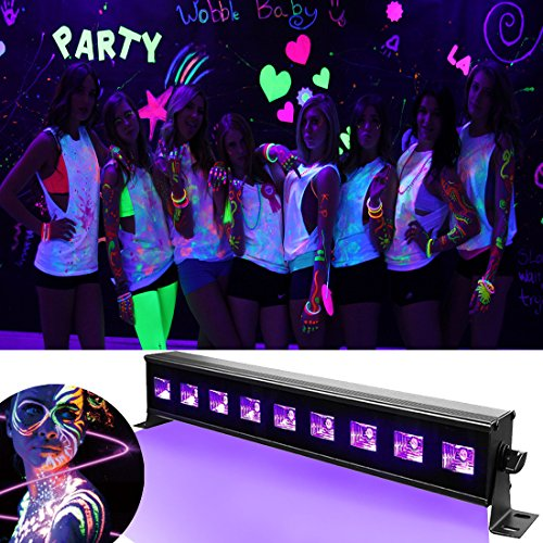 Great effect for party's and everything white glows bright as anything well cool love it