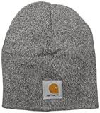Carhartt Acrylic Knit Mütze, Grey/Coal Heather, Einheitsgröße