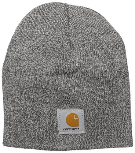 Carhartt Acrylic Knit Mütze, Grey/Coal Heather, Einheitsgröße Acrylic Knit Beanie