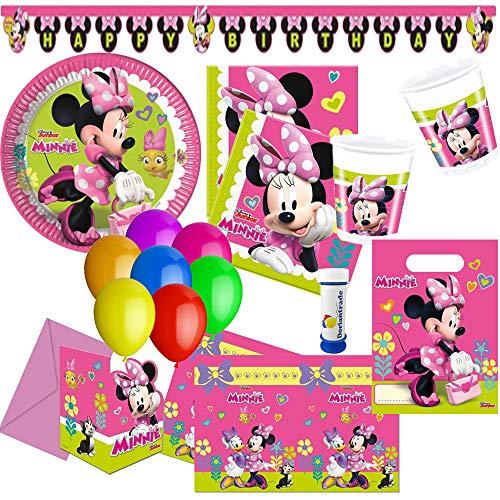 he Helfer Partyset 75-tlg. für 6-8 Kinder zum Kindergeburtstag Geburtstag Partydeko Mottoparty ()