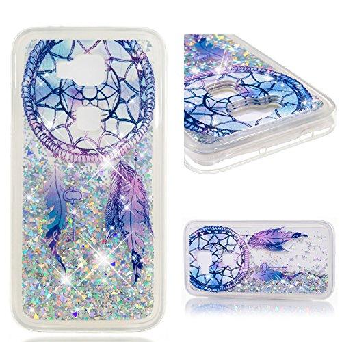 sinogoods Für Huawei G8 / G7 Plus / GX8 Hülle TPU Schutzhülle Silikon Tasche Case Cover - Treibsand (Traumwindspiele)