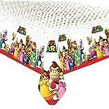 Super Mario Bros Plastic Party Tablecover