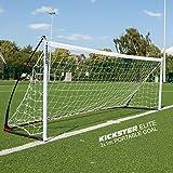 QUICKPLAY Kickster Elite Fußballtore 3 x 1M - Ultra Tragbar Innerhalb und Draussen Fußballtor |...