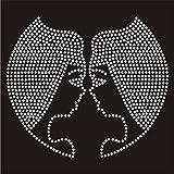 Trenzado Envy Gemini diseño de signo del zodiaco, diseño de brillantes, diamantes de imitación transferencia