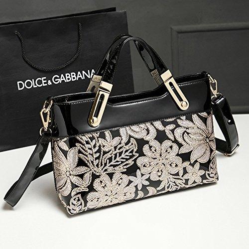TSLX Schulter Messenger Bag Neue Mode Handtaschen black