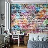 Fototapete Steinwand 352 x 250 cm - Vliestapete - Wandtapete - Vlies Phototapete - Wand - Wandbilder XXL - !!! 100% MADE IN GERMANY !!! Runa Tapete 9020011b