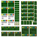 56 Geocaching Aufkleber Set Petlinge Filmdosen LOCK&LOCK Dosen Logbücher Hinweis Stashnote Finderhinweis Sticker